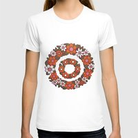 vintage flowers T-shirts featuring vintage flowers by snorkdesign