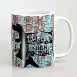 Etude in grunge style 2 Coffee Mug