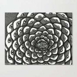 Cosmosis Pine Cone Canvas Print