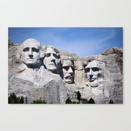 Mt Rushmore Canvas Print