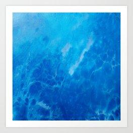 Ocean Reflections Art Print