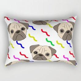 PUG PARTY PALOOZA Rectangular Pillow