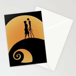 Jack & Sally Stationery Cards