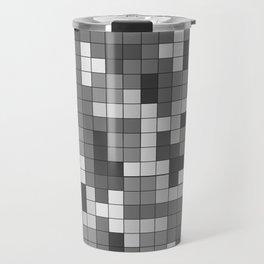 Tetris Camouflage Urban Travel Mug