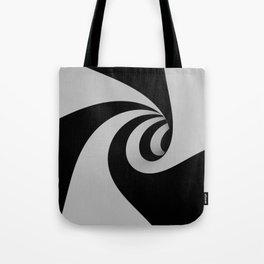 Hypnotic/Abstract Tunnel Tote Bag