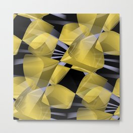 3D abstraction -01- Metal Print