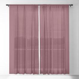 NEW YORK FASHION WEEK 2019 - 2020 AUTUMN WINTER BIKING RED Sheer Curtain