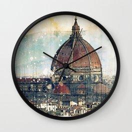 Florence - Cattedrale di Santa Maria del Fiore Wall Clock