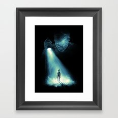 I See U Framed Art Print