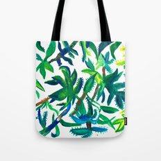 Cactus Abstract Tote Bag
