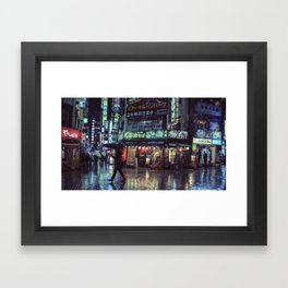 T0:KY:00 / Kabukichō Nights / Blade Runner Origins Framed Art Print