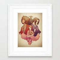 samurai champloo Framed Art Prints featuring Samurai Champloo by Kathryn Layno
