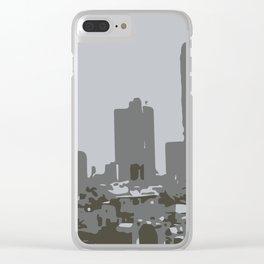 Tel Aviv Beach Clear iPhone Case