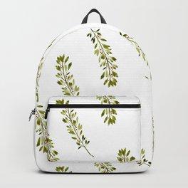 Watercolor christmas pattern Backpack