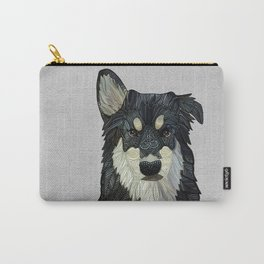 Bjorn - Malamute Samoyed Husky Mix Carry-All Pouch