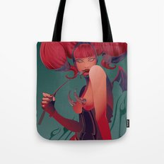 DECADENTLY HORNY Tote Bag