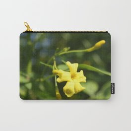 Carolina Jasmine Single Bloom In Sunlight Carry-All Pouch