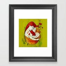 L'oeuf Framed Art Print