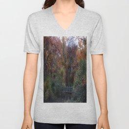 Autumn Scenery Unisex V-Neck