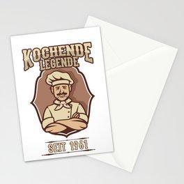 60. Birthday Kochende Legende 1961 Cook Hobby Cook Stationery Cards