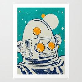 Robot #1 Art Print