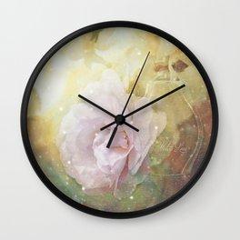 Winter's Love Wall Clock