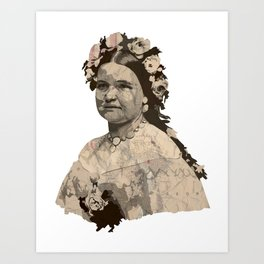 Mrs. Lincoln Art Print