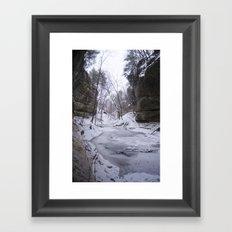 Starved Rock Framed Art Print