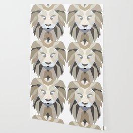 Polygonal Lion Wallpaper