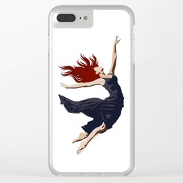LARISSA Clear iPhone Case