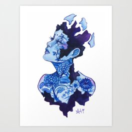 Porcelain Art Print