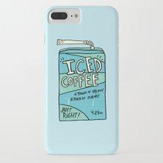 Iced Coffee Juicebox iPhone 7 Plus Slim Case