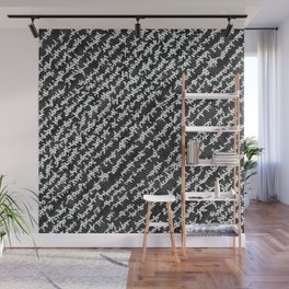 Modern Black White Popular Trendy Abstract Pattern Wall Mural