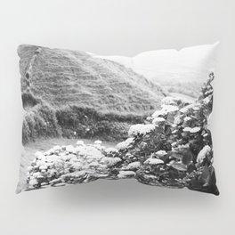 Black and white landscape Pillow Sham