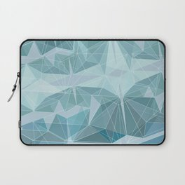 Winter geometric style - minimalist Laptop Sleeve
