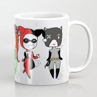 gotham Mugs featuring Gotham Sirens by BatSpats