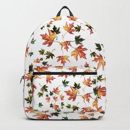 Leaves of trees - Autumn nature / Fall season Backpack