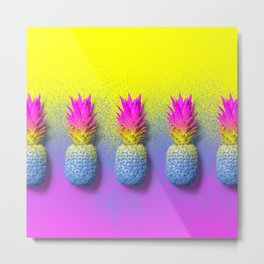 The Pineapple Effect Metal Print