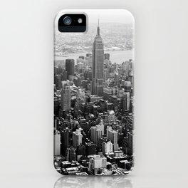new york city ... manhattan view II iPhone Case