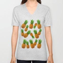 Pineapple Party Unisex V-Neck