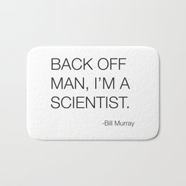 Ghostbusters Bill Murray Quote Bath Mat