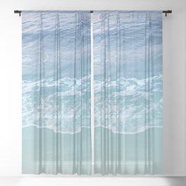 Turquoise Ocean Beauty Dream #1 #wall #decor #art #society6 Sheer Curtain