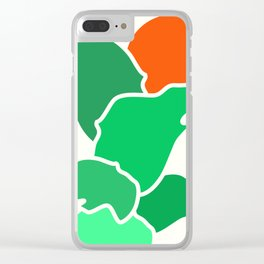 Stacking Shapes 05 Clear iPhone Case