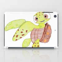 nemo iPad Cases featuring finding nemo by Art_By_Sarah
