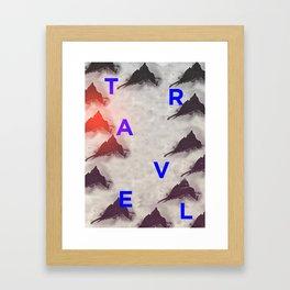 Fjell Framed Art Print