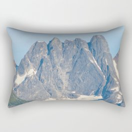 The Mountain's Crown Rectangular Pillow