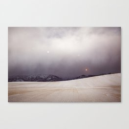 Explorations with Space: No. 6 Canvas Print