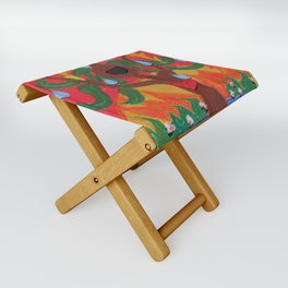 Singing Tree Folding Stool
