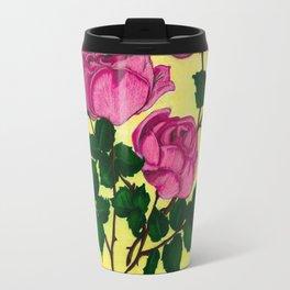 Pink Flowers of Admiration Travel Mug