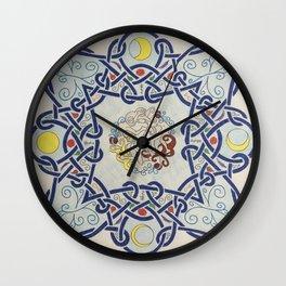 Life and Moon cycles  Wall Clock